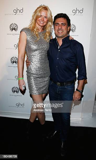 Britta Steffen and Shan Rahimkhan attend No1 TRUE BERLIN BY Shan Rahimkhan ghd on September 13 2013 in Berlin Germany