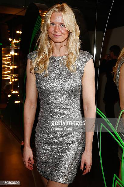 Britta Steffen attends No1 TRUE BERLIN BY Shan Rahimkhan ghd on September 13 2013 in Berlin Germany
