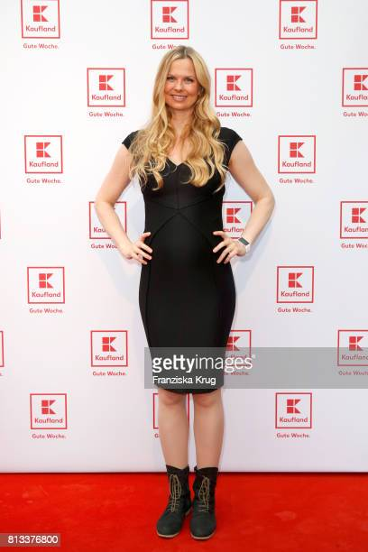 Britta Steffen attends the Kaufland Hosts VIP BBQ at OberhafenKantine on July 12 2017 in Berlin Germany