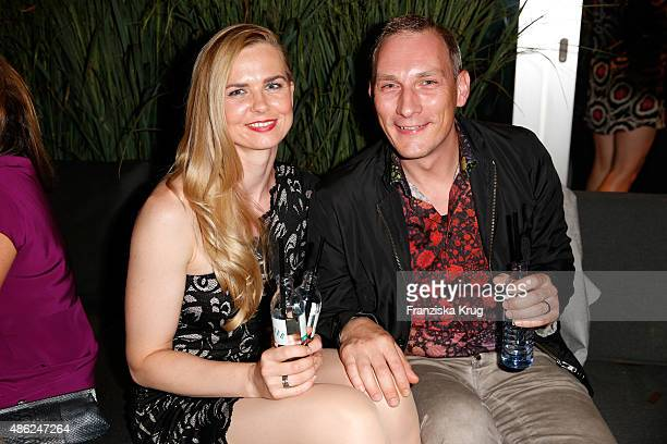 Britta Steffen attends True Berlin by Shan Rahimkhan on September 2 2015 in Berlin Germany