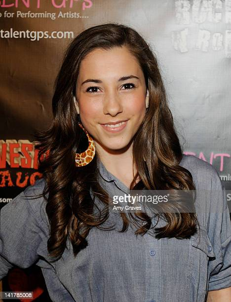 Brittani Brant attends the Shamrock and Roll Concert for St. Jude's Children's Hospital on March 17, 2012 in Los Angeles, California.