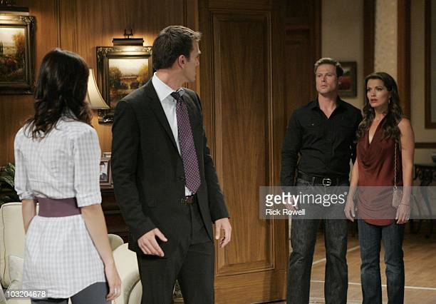 CHILDREN Brittany Allen Adam Mayfield Jacob Young and Melissa Claire Egan in a scene that airs the week of August 9 2010 on Walt Disney Television...