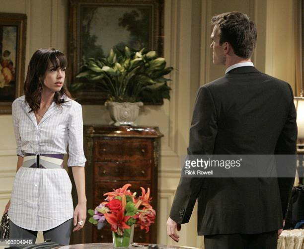 CHILDREN Brittany Allen and Adam Mayfield in a scene that airs the week of August 9 2010 on Walt Disney Television via Getty Images Daytime's All My...