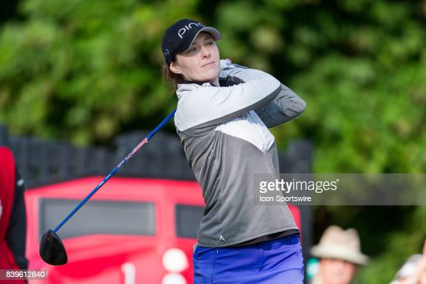 Brittany Altomare during the third round of the Canadian Pacific Women's Open on August 26 2017 at The Ottawa Hunt and Golf Club in Ottawa ON Canada
