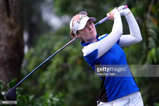 Brittany Altomare of USA in action during day one of the Sime Darby LPGA Malaysia at TPC Kuala Lumpur East Course on October 26 2017 in Kuala Lumpur...