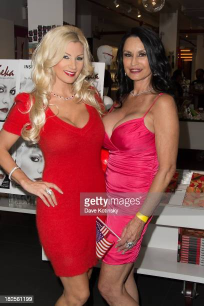 Brittany Andrews and Rita Daniels promotes Inside Seka at the Museum of Sex on September 30 2013 in New York City