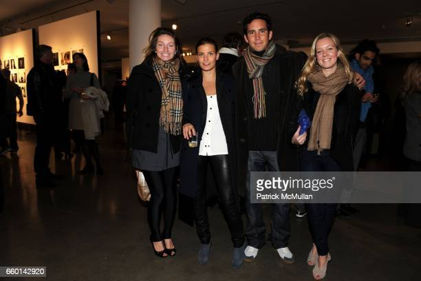 Brittany Black Antonia Thompson Teddy Wasserman and Aurora Tower attend MILK GALLERY and The Photographers' Gallery Presents Photography Project In...
