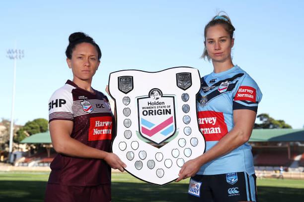 AUS: NSW Women's State of Origin Captain's Run