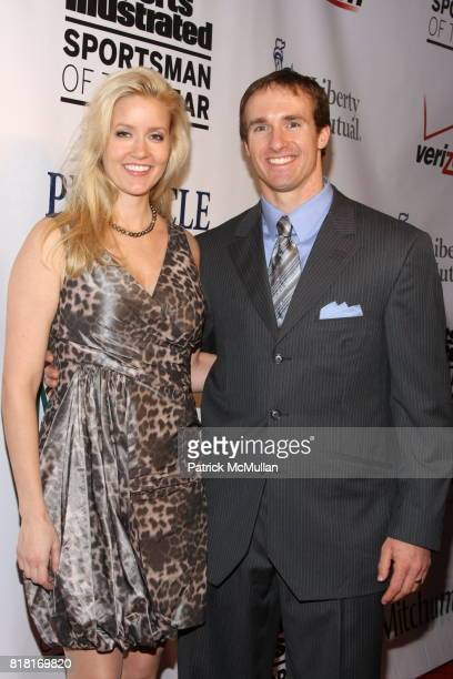 Brittany Brees and Drew Brees attend 2010 Sports Illustrated Sportsman Of The Year Award Presentation at The IAC Building on November 30, 2010 in New...