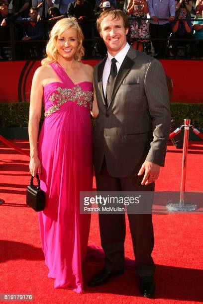 Brittany Brees and Drew Brees attend The 2010 ESPY Awards Arrivals at Shrine Theatre on July 14, 2010 in Los Angeles, CA.