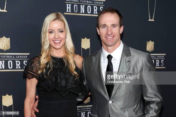 Brittany Brees and NFL Player Drew Brees attend the NFL Honors at University of Minnesota on February 3, 2018 in Minneapolis, Minnesota.