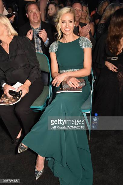 Brittany Brees attends the 53rd Academy of Country Music Awards at MGM Grand Garden Arena on April 15, 2018 in Las Vegas, Nevada.