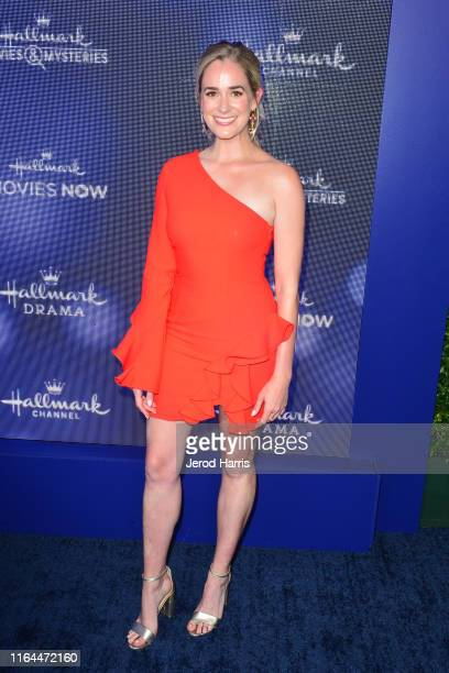 Brittany Bristow arrives at Hallmark Channel And Hallmark Movies Mysteries Summer 2019 TCA Press Tour Event at Private Residence on July 26 2019 in...