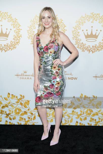 Brittany Bristow attends Hallmark Channel And Hallmark Movies And Mysteries 2019 Winter TCA Tour at Tournament House on February 09 2019 in Pasadena...