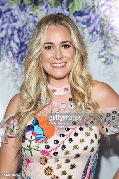 Brittany Bristow attends the 2018 Hallmark Channel Summer TCA at a private residence on July 26 2018 in Beverly Hills California