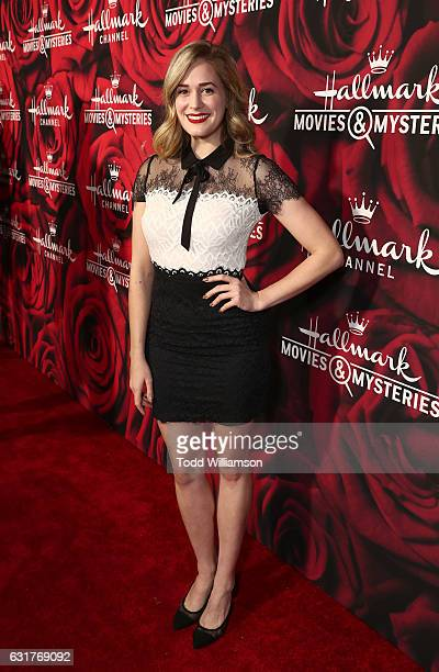 Brittany Bristow attends the Hallmark Channel And Hallmark Movies And Mysteries Winter 2017 TCA Press Tour at The Tournament House on January 14 2017...