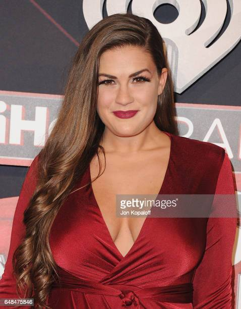 Brittany Cartwright arrives at the 2017 iHeartRadio Music Awards at The Forum on March 5 2017 in Inglewood California