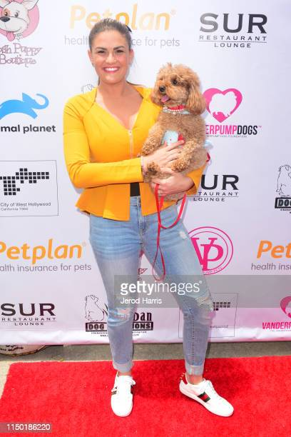 Brittany Cartwright attends 4th Annual World Dog Day at West Hollywood Park on May 18, 2019 in West Hollywood, California.