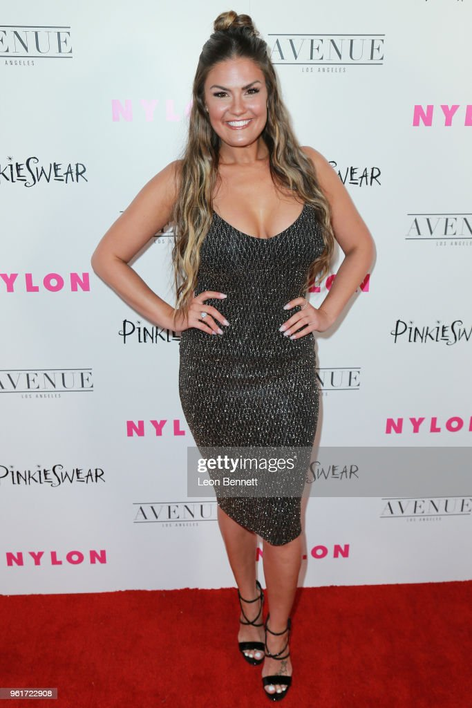 Brittany Cartwright attends NYLON Hosts Annual Young Hollywood Party at Avenue on May 22, 2018 in Los Angeles, California.