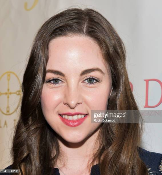 Brittany Curran attends Regard Magazine Spring 2018 Cover Unveiling Party presented by Sony Studios featuring the cast of 'The Oath' on Crackle at...