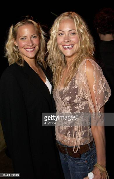 Brittany Daniel and Cynthia Daniel during PlayStation 2's After Party for Movieline's 4th Annual Young Hollywood Awards at The Highlands in Hollywood...