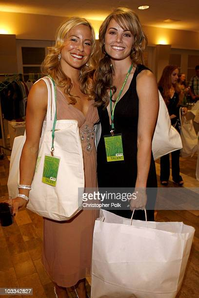 Brittany Daniel and Erica Durance
