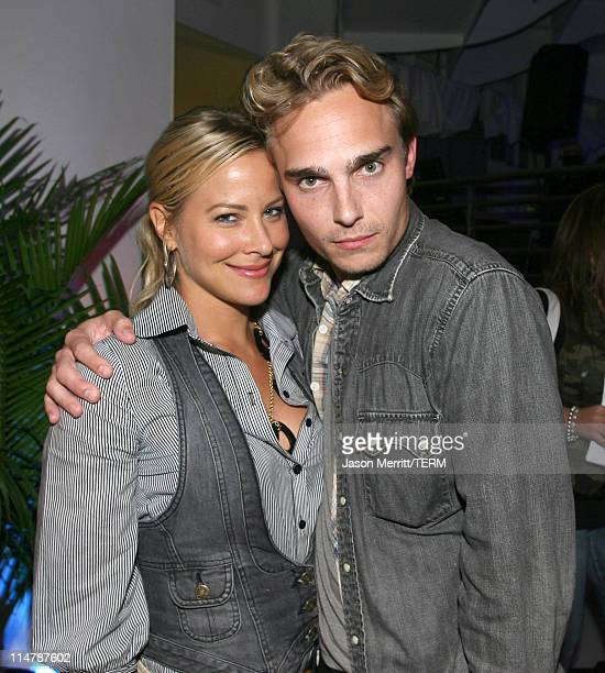 """Brittany Daniel and Joey Kern during VH1's """"Totally Awesome"""" After Party - Inside at The Day After in Los Angeles, California, United States."""