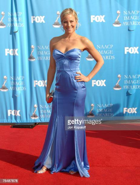 Brittany Daniel at the 38th Annual NAACP Image Awards Arrivals at Shrine Auditorium in Los Angeles California