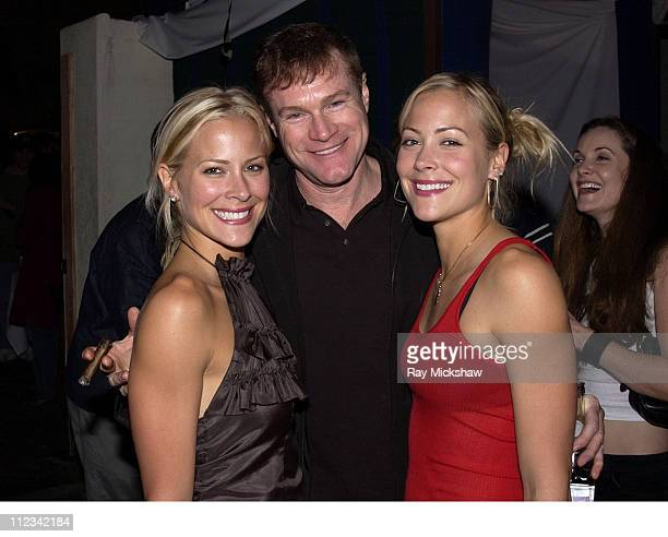 Brittany Daniel David Keith and Cynthia Daniel during Danny Masterson's St Patricks Day Party at GQ Lounge at GQ Lounge at Sunset Room in Hollywood...