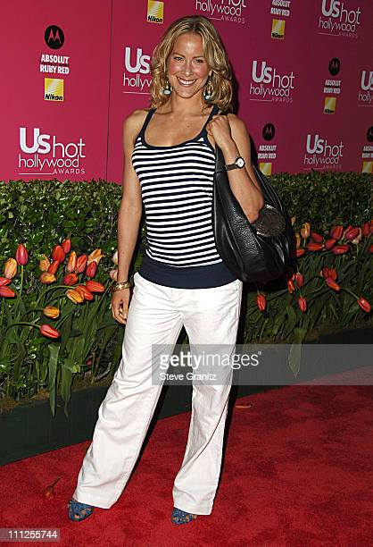 Brittany Daniel during 2006 US Weekly Hot Hollywood Awards - Arrivals at Republic Restaurant & Lounge in Los Angeles, California, United States.