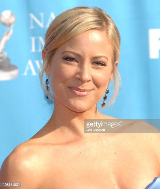 Brittany Daniel during 38th Annual NAACP Image Awards Arrivals at Shrine Auditorium in Los Angeles California United States
