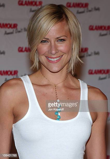 Brittany Daniel during Glamour Magazine's Don't Party at Del Taco at Del Taco in Hollywood California United States