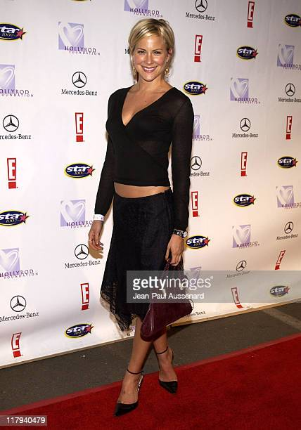Brittany Daniel during Holly Robinson Peete Rodney Peete in Conjunction with E Entertainment TV San Diego's Star 100 Radio Host Fundraiser Arrivals...