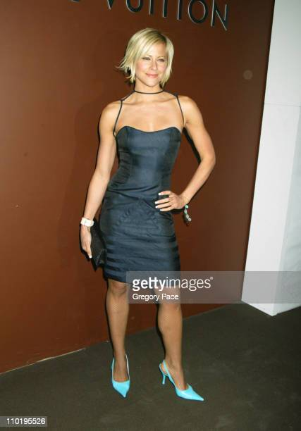 Brittany Daniel during Louis Vuitton 150th Anniversay Celebration Inside at Louis Vuitton Tent at Lincoln Center in New York City New York United...