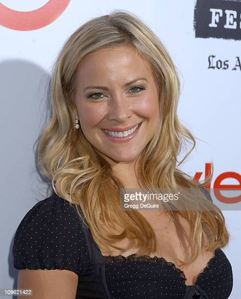 Brittany Daniel during Spirit of Independence Award Ceremony Honoring Charlize Theron - Arrivals at W Hotel in Westwood, California, United States.
