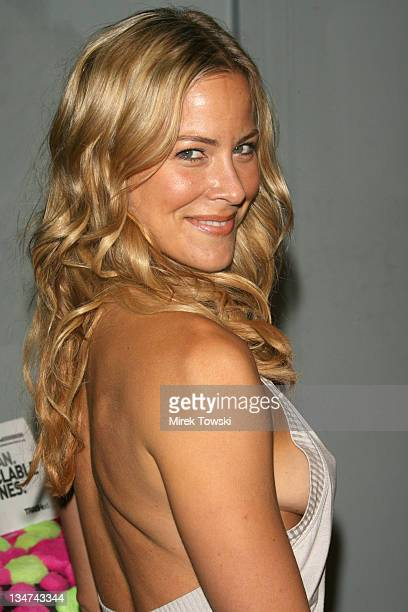 Brittany Daniel during The T-Mobile Sidekick 3 Debut Party at Hollywood Palladium Theater in Hollywood, California, United States.
