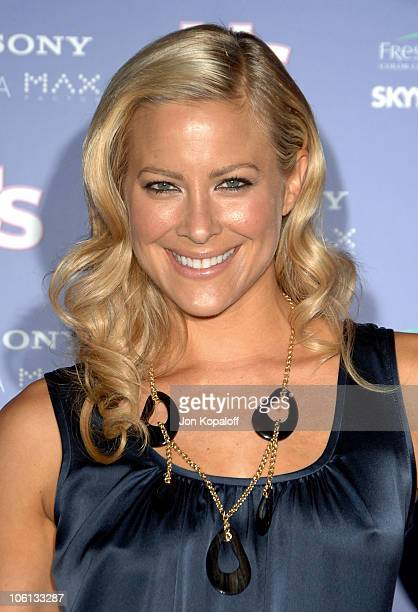 Brittany Daniel during US Weekly's Hot Hollywood Fresh 15 Arrivals at Area in Los Angeles California United States