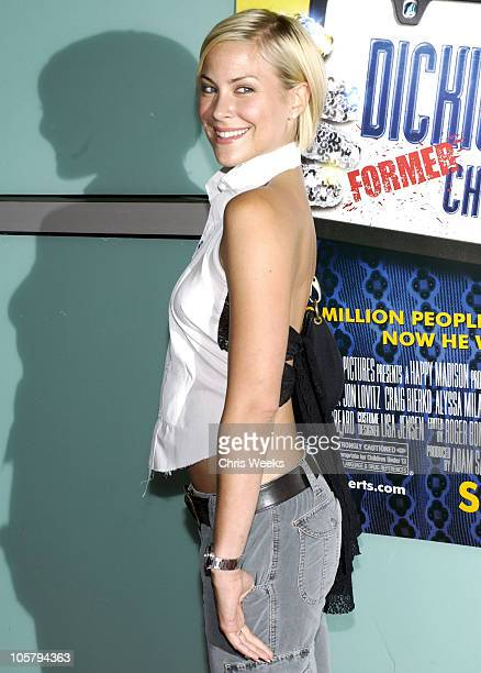 """Brittany Daniel during World Premiere of """"Dickie Roberts: Former Child Star"""" at Cinerama Dome in Hollywood, California, United States."""