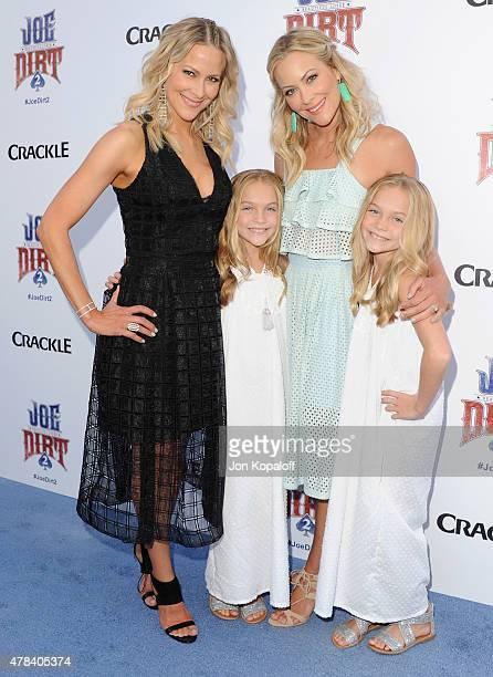 Brittany Daniel sister Cynthia Daniel Lauren Gobuzzi and sister Allison Gobuzzi arrive at Crackle Hosts World Premiere Of Joe Dirt 2 Beautiful Loser...