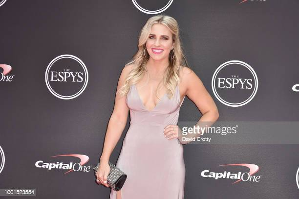 Brittany Force attends The 2018 ESPYS at Microsoft Theater on July 18 2018 in Los Angeles California