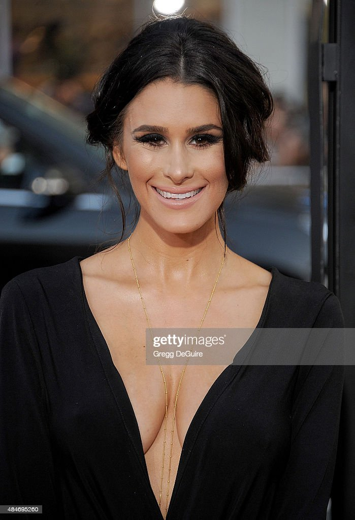 Brittany Furlan arrives at the premiere of Warner Bros. Pictures' 'We Are Your Friends' at TCL Chinese Theatre on August 20, 2015 in Hollywood, California.