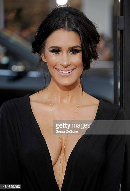 Brittany Furlan arrives at the premiere of Warner Bros Pictures' We Are Your Friends at TCL Chinese Theatre on August 20 2015 in Hollywood California