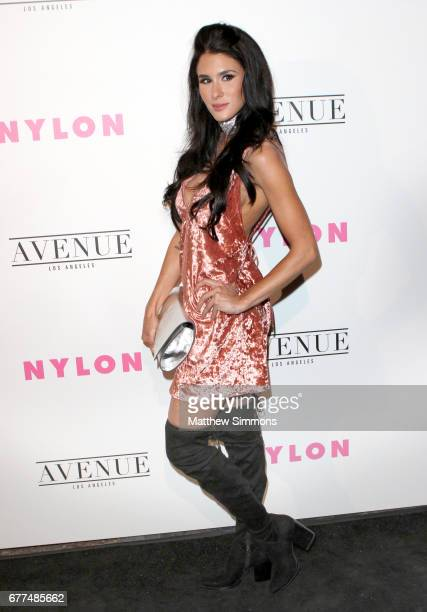 Brittany Furlan attends NYLON's Annual Young Hollywood May Issue Event at Avenue on May 2 2017 in Los Angeles California