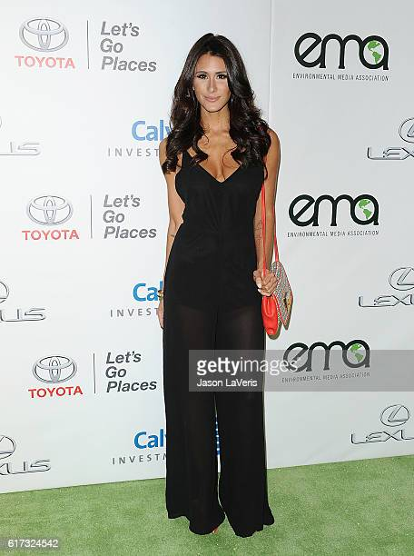 Brittany Furlan attends the 26th annual EMA Awards at Warner Bros Studios on October 22 2016 in Burbank California