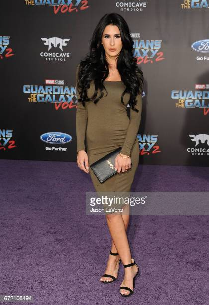 Brittany Furlan attends the premiere of Guardians of the Galaxy Vol 2 at Dolby Theatre on April 19 2017 in Hollywood California
