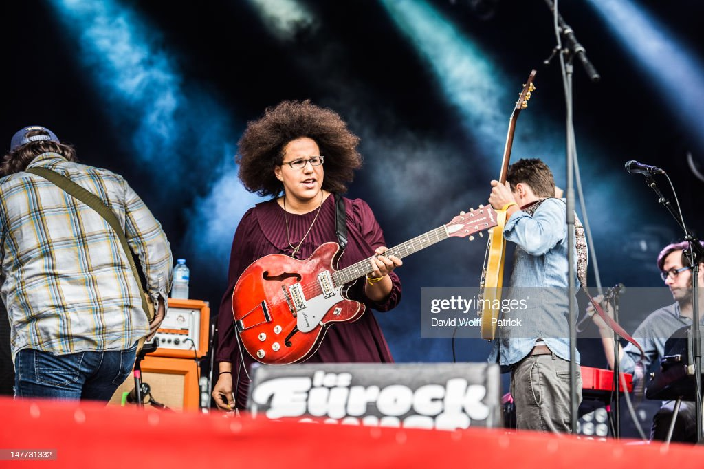 Brittany Howard from Alabama Shakes performs at Eurockeennes Music Festival on July 1, 2012 in Belfort, France.