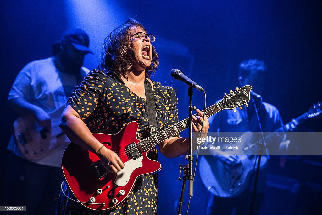 Festival Les Inrocks 2012 - Alabama Shakes : News Photo