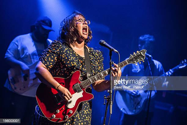 Brittany Howard of Alabama Shakes performs at Les Inrocks Festival at la Cigale on November 10 2012 in Paris France