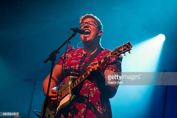 Brittany Howard of Alabama Shakes performs live at Open'er Festival at Gdynia Kosakowo Airport on July 1 2015 in Gdynia Poland
