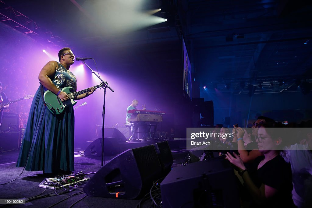 Snoop Dogg And The Alabama Shakes  At AOL's Future Front During Advertising Week : News Photo